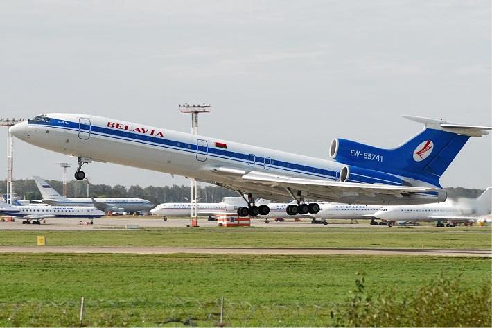 Belavia_Tupolev_Tu-154M_Beltyukov