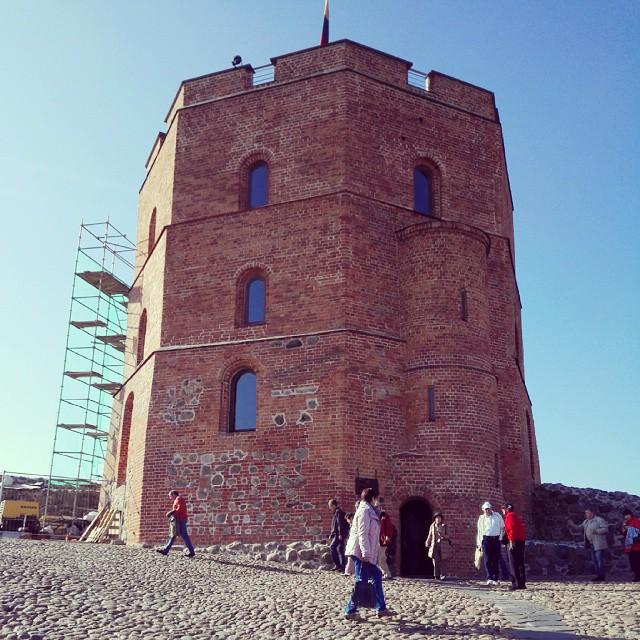 Закрыт гештальт с посещением башни Гедымина в Вильнюсе