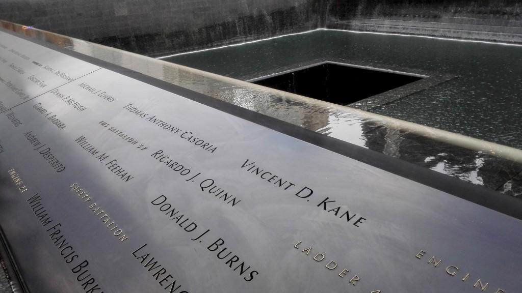 Мемориал 9/11 - один из самых впечатляющих из тех, что я видел
