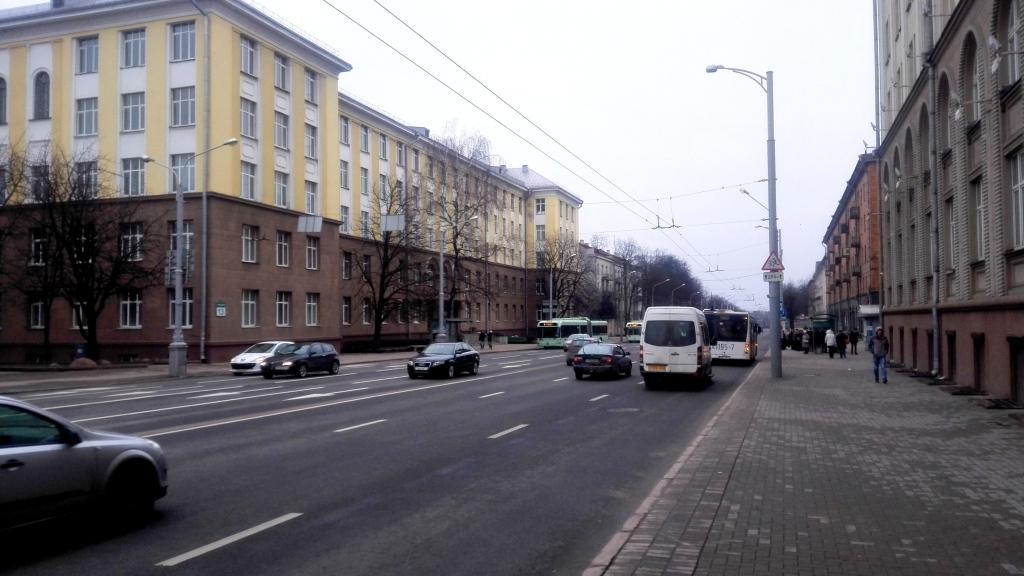 Свердлова в сторону Червенского рынка (бывшая)