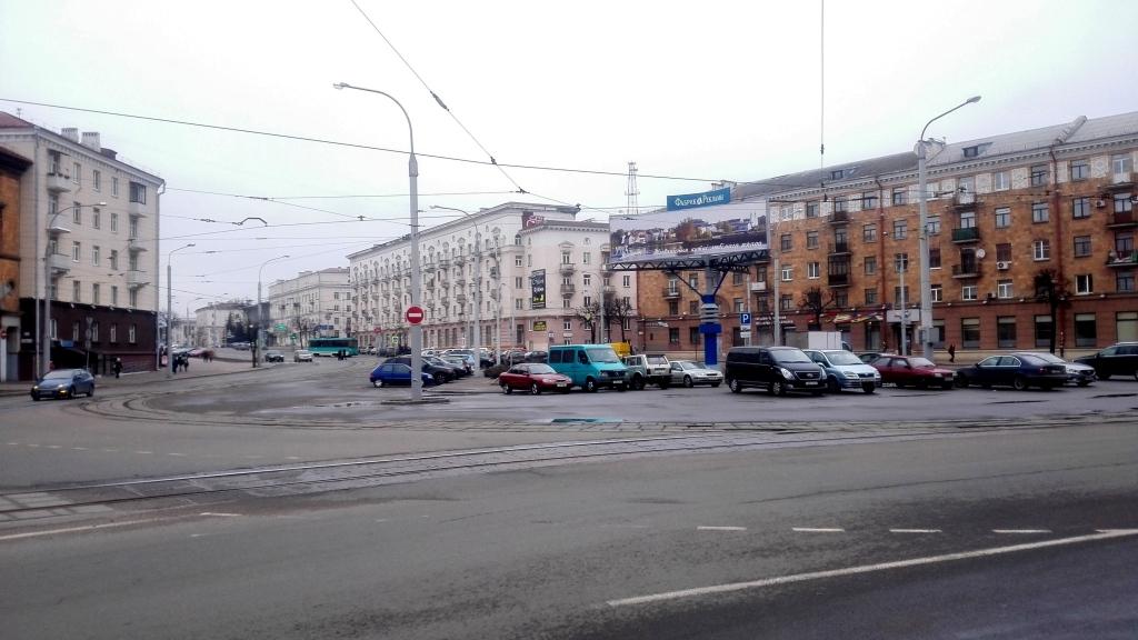 Площадь Змитрока Бядули