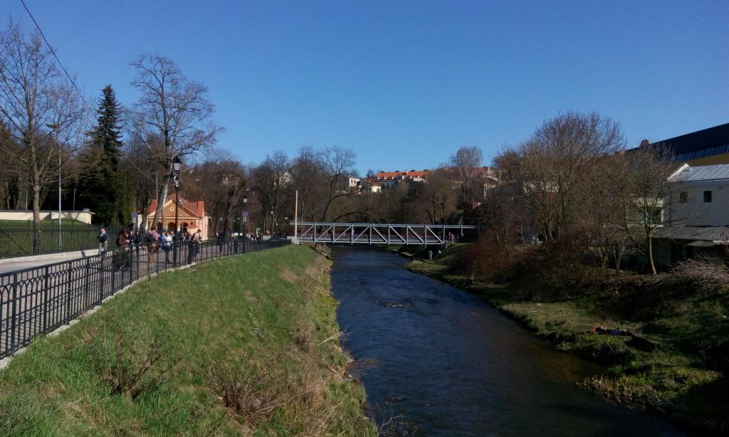 Мост Fluxus впереди