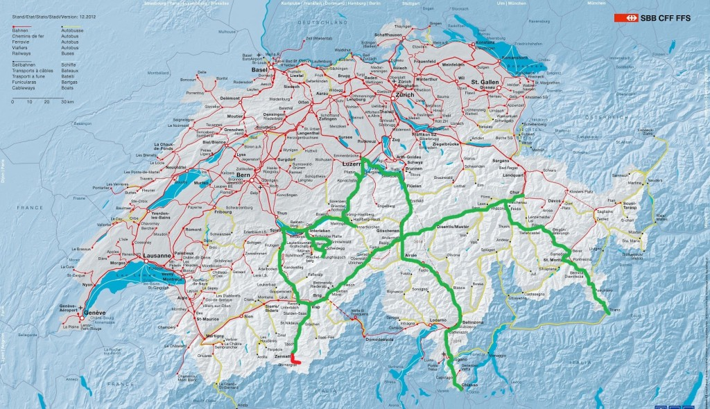 Карта третьего дня путешествия. Нажмите для увеличения
