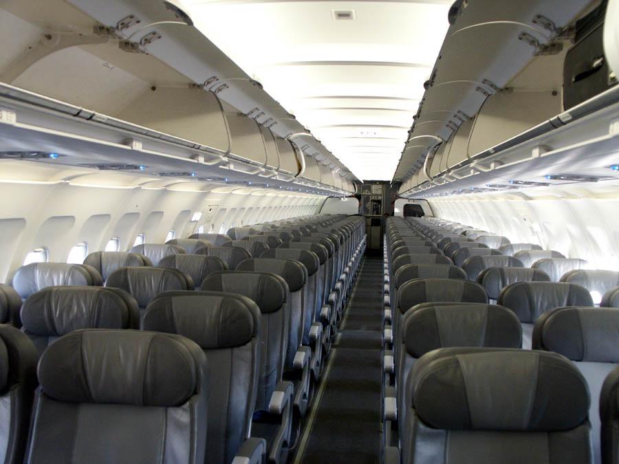 Салон одного из двух A320
