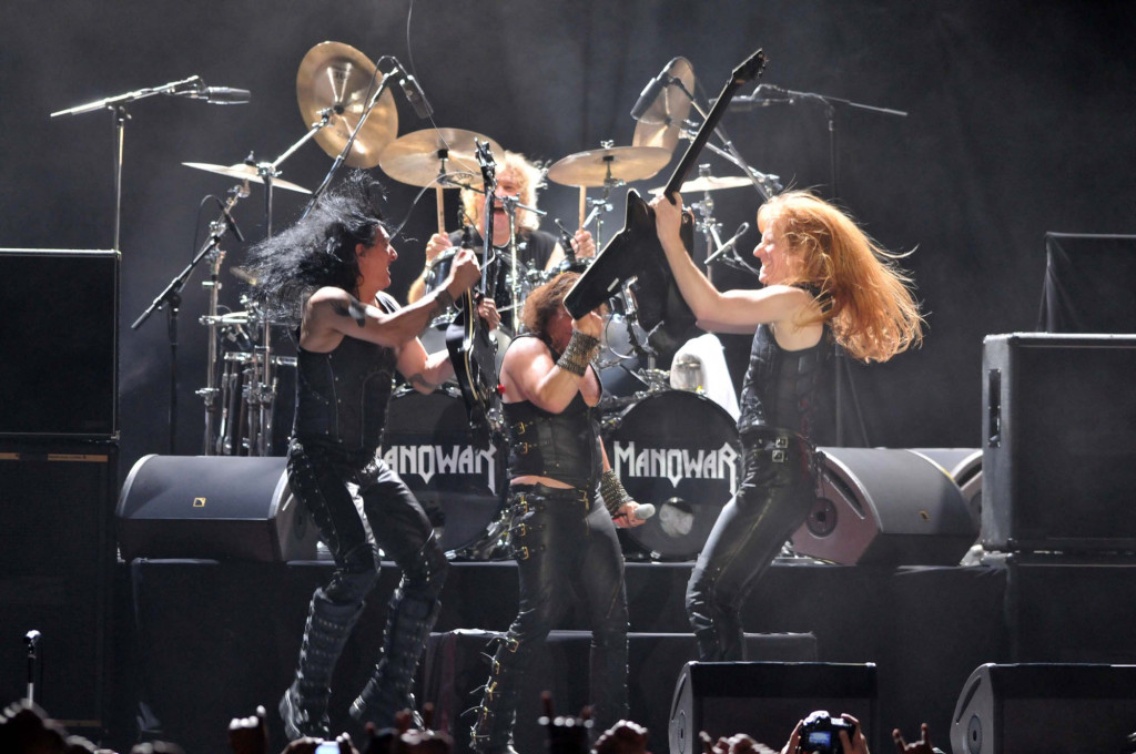 Manowar Performs In Belo Horizonte